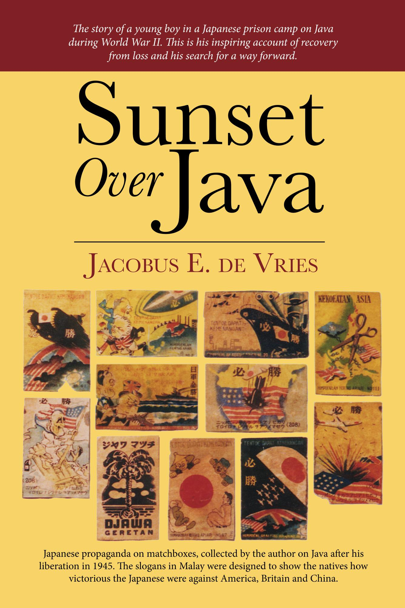 Sunset Over Java Cover